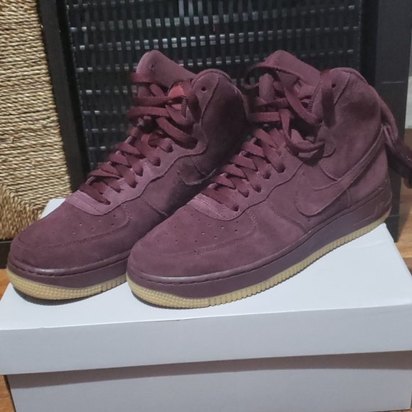 bas prix 5dd99 b4939 Air Force 1 High WB GS 'Bordeaux'